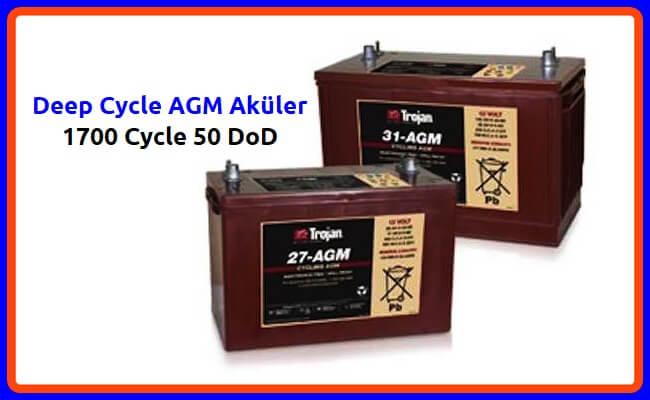 AGM Akü özellikleri