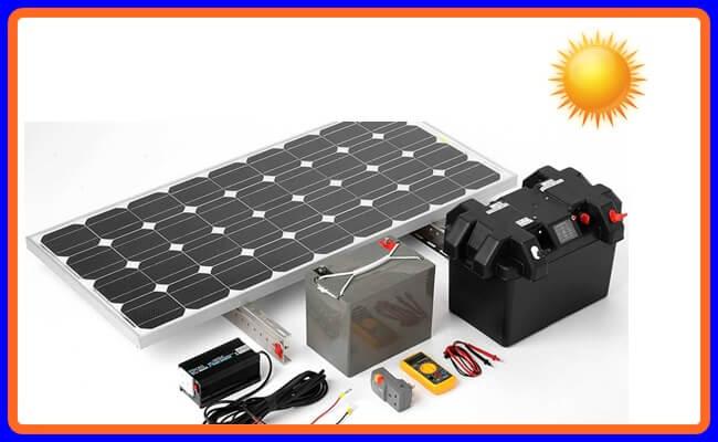 Güneş enerji panellerinde, sistemlerinde akü seçimi